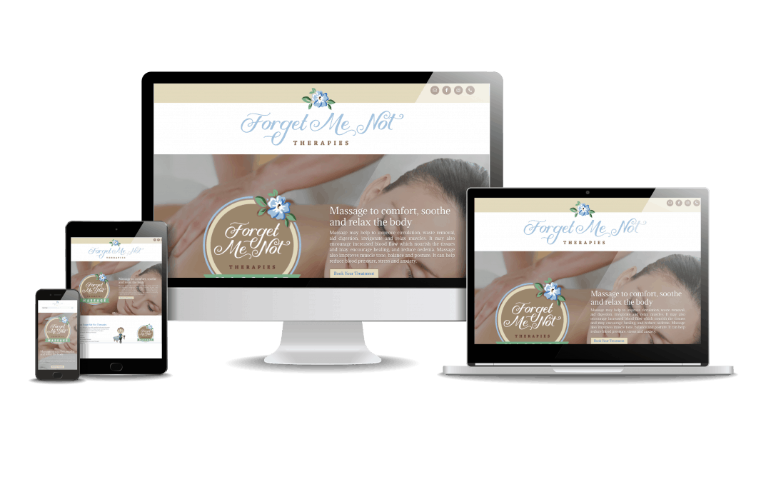 Forget Me Not Therapies Website Design